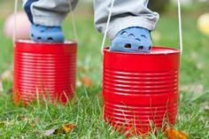 Come Play Outside! Fun activities for kids to do outside.