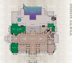 "Here are the floor plans to the 90,000 square foot ""Versailles"" mega mansion located in Windermere, FL!"