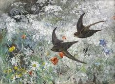 Image result for paintings of swifts
