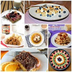 15 Mouthwatering Sweet Brunch Recipes perfect for Mother's Day! Breakfast Punch, What's For Breakfast, Brunch Recipes, Breakfast Recipes, Brunch Ideas, Breakfast Dishes, Yummy Recipes, Brunch Drinks