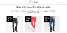 Mobile App Cobrain Helps Shoppers 'Find What They Love' Retail Solutions, Perfect Jeans, Mobile App, Discovery, Shopping, Mobile Applications