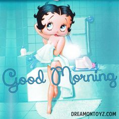 Good Morning For more Betty Boop graphics and. Good Morning Handsome Quotes, Morning Quotes, Morning Messages, Betty Boop Birthday, Happy Birthday, Imagenes Betty Boop, Betty Boop Tattoos, Black Betty Boop, Betty Boop Pictures