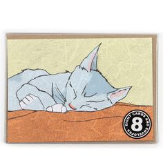 Cats to love notecards - box of 8