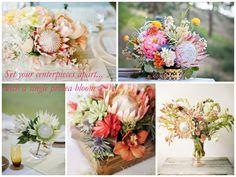 Florals and succulents