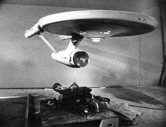 Star Trek Prop, Costume & Auction Authority: The U.S.S. Enterprise Star Trek Original Series 11 Foot Filming Model On Display At The Smithso...