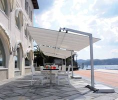 A retractable canopy or patio cover is the sun shade solution.
