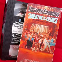 Richard Simmons Sweatin to the Oldies VHS Exercise Workout Cardio Alumni 1988