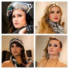Maquillajes para el Desfile Esq-MUSTANG #pasarela #makeup #bobbibrown #mariomarius