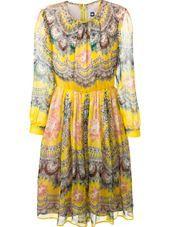 MSGM - graphic print dress #genteroma