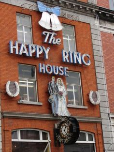 The Happy Ring House - McDowells by the Pillar, Dublin My Grandfather bought my Grandmother's engagement ring there in 1940.