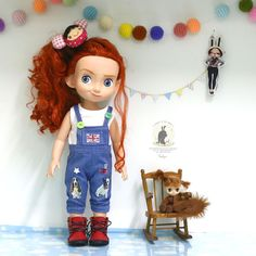 "Doll clothes for Disney animator dolls 16""."