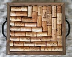 Don't Grow Up Cork Tray by LoveDalliance on Etsy