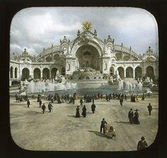 Colorized Photos from the 1900 Paris World's Fair