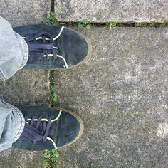 Shoe pavement Kew Garden