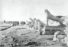ΔΗΛΟΣ - 1907 - ΑΠΟΨΗ ΤΟΥ ΝΗΣΙΟΥ - ΦΩΤ.FREDERIC BOISSONNAS
