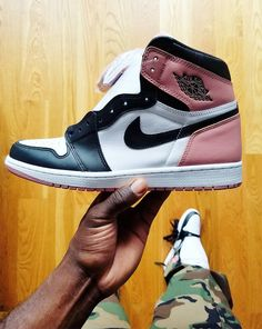 1a3754947465 Air Jordan 1 Rust Pink- Sneaker Bar Detroit Black Toe