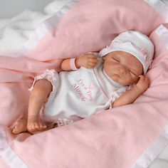 So Truly Real Babies | ... So Truly Real Tiny Miracle Blessing Early Arrivals Newborn Baby Doll