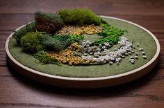 Вышитый мох Emma Mattson - Ярмарка Мастеров - ручная работа, handmade