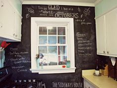 The Sideways House: Chalking it up!