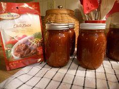 A: canning a chili base