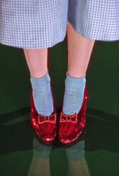 "Dorothy's Ruby Slippers -""The Wizard of Oz"", 1939.  °"