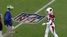 """""""Do you know if they played my commercial tonight?""""  Tyrann Mathieu wondering if he's on TV...during the game."""