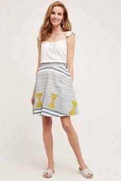 NEW ANTHROPOLOGIE Size XS Petite Marisol Swing Skirt $128 Plenty Tracy Reese NWT #AnthropologiebyTracyReese #ALine
