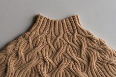 Ravelry: Botanical Yoke Pullover pattern by Purl Soho Knitting Pullover, Crochet Cardigan, Langer Mantel, Purl Soho, Warm Dresses, Boho Stil, Winter Outfits Women, Lana, Boho Fashion