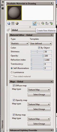 Cadgue: Cara pemberian material atau render objek 3D pada ...