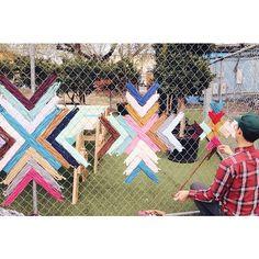 Trilbynelson fence weaving