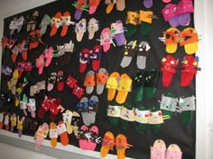 """I am special"" slippers for kinder... symmetry & balance in their own shoe designs to capture their inner strengths and qualities."