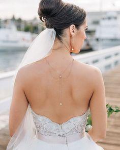Back Necklace by @De