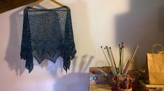Finished off and ready to be shipped :) Sheila,I hope you like it Love xxx Tajana Crescent Shawl, Crafts, Manualidades, Handmade Crafts, Craft, Arts And Crafts, Artesanato, Handicraft