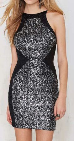 Dress the Population Rowen Sequin Dress