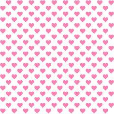 Free digital Valentines heart scrapbooking papers and border - ausdruckbares Geschenkpapier - freebie | MeinLilaPark – digital freebies