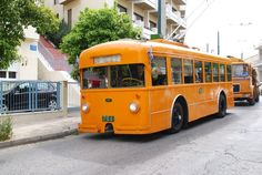 Trolleybus made by FIAT for the Piraeus-Kastella line in Greece Good Old Times, Light Rail, Athens Greece, Find Hotels, Public Transport, Old Pictures, Fiat, Transportation, Tourism