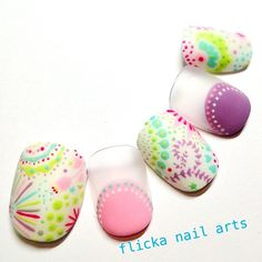 Heat Up Your Life with Some Stunning Summer Nail Art 3d Nail Art, Cool Nail Art, Nail Arts, Cute Nails, Pretty Nails, Japanese Nail Art, Kawaii Nails, Manicure Y Pedicure, Easter Nails