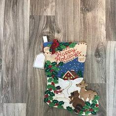 Bucilla Must Be Santa Felt Christmas Advent Calendar Kit Felt Stocking Kit, Christmas Stocking Kits, Felt Christmas Stockings, Felt Christmas Ornaments, Christmas Tree, Greeting Card Holder, Felt Advent Calendar, Felt Wall Hanging, Christmas Wall Hangings