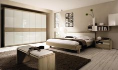18 Modern and Stylish Bedroom Designs You Are Dreaming Of: Modern bedroom designs with interior decoration is extremely important in order to get that instant. Beige Walls Bedroom, Bedroom Colors, Bedroom Wall, Bedroom Decor, Beige Bedding, White Bedroom, Bedroom Ideas, Interior Design Gallery, Modern Interior Design