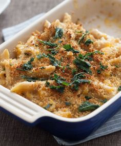 A delicious take on mac & cheese that features one of our fall favorites, butternut squash.