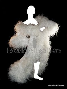 Feather robe