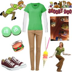 Shaggy from Scooby-Doo - Polyvore