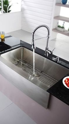 exclusive sink and cabinets in ultramodern kitchen | 24 Best Modern Kitchen Sinks images | Kitchens, Modern ...
