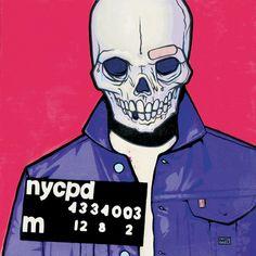Skullptures: Mystery Artist Named 'Jim' Makes Dangly Twine Skull Art Mike Shinoda, Occult Art, Park Art, Band Posters, Linkin Park, Artist Names, Skull Art, Werewolf, Art Google