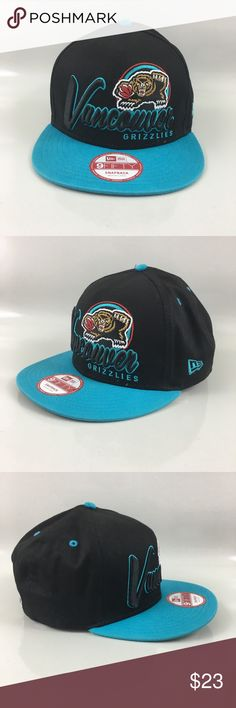 New era NBA Vancouver Grizzlies Snapback M-L New with tag. Great condition. Accessories  Hats 52759f1aabf6