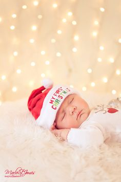 Newborn christmas #christmas #photography # newborn