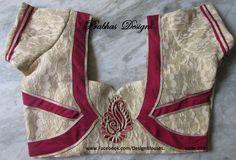 Design Blouses by Prabha designs. Contact : 096770 03313. Aari Embroidery ClassesTassel ClassesPattern   Design Blouse Classes TakenPh:9677003313 28 February 2016