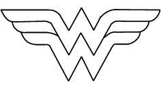 Fee Wonder Woman Logo Printable Wonder Women Graduates Pinterest