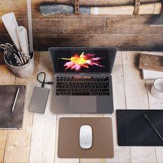 SatechiのType-C接続 HDD/SSDケースは新しい #MacBookPro とお使い頂くのにピッタリ