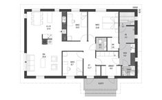 Bungalow House Plans, My Dream Home, My House, Floor Plans, How To Plan, Live, Buildings, Design Ideas, My Dream House